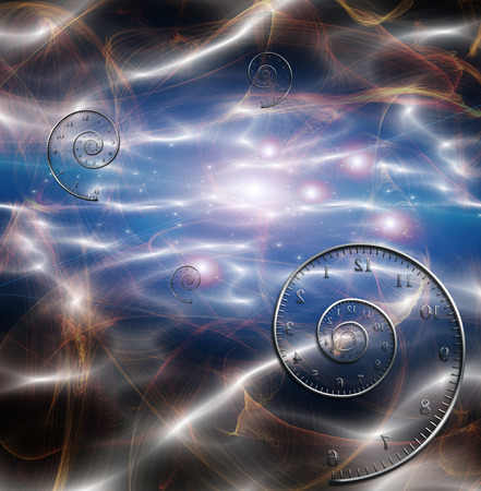 white matter: Time Space Fabric