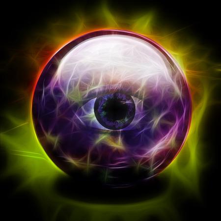 eye ball: Crystal Ball