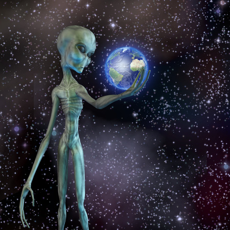 roswell: Alien being ponders earth