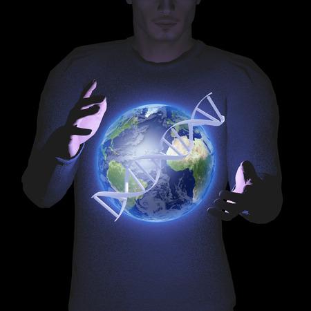 地球と dna を持つ男