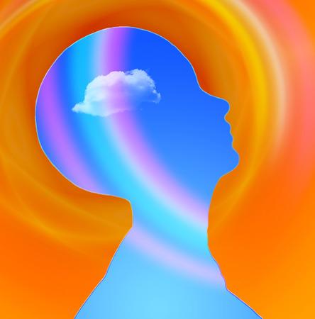 Human Head Radiates