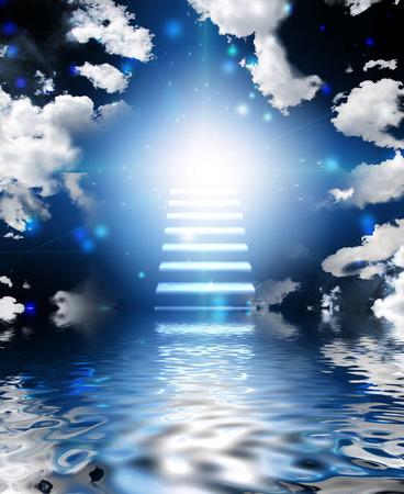 천국으로가는 계단 스톡 콘텐츠