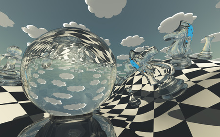 surreal: Surreal Chess Landscape