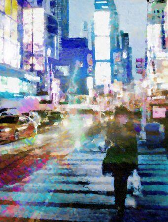 뉴욕 타임스 스퀘어 (Times Square)