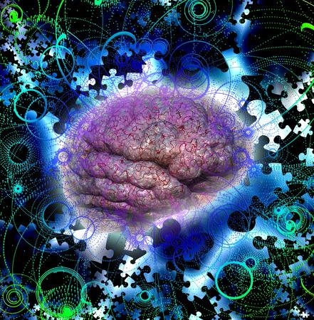 brain puzzle: Brain Puzzle Radiate