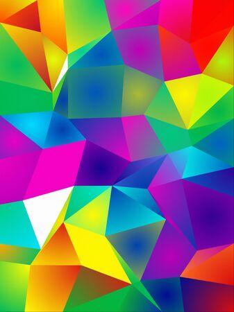 bright: Vibrant Crystal Pattern
