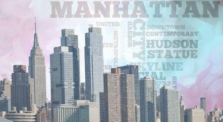 high rise buildings: Manhattan