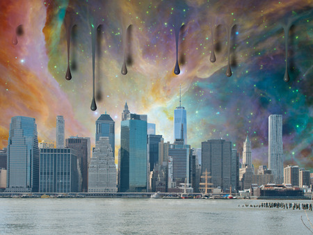 high rise buildings: NYC Landscape