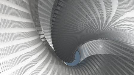 奇妙な旋回構造