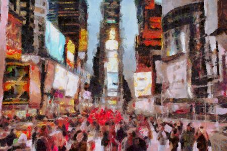 anonymus: Times Square New York City