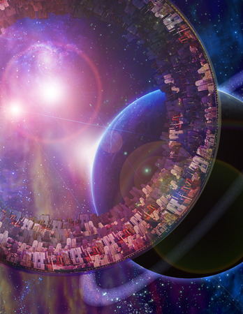 encounters: Huge City Multi-Generational City Ship Encounters New Planet