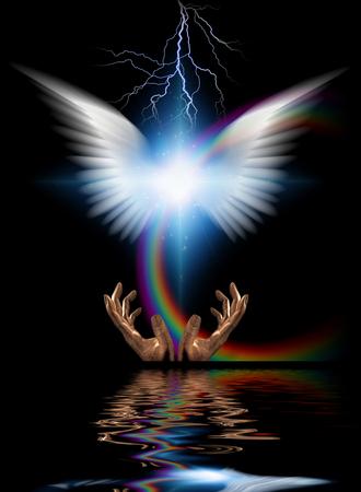 Heraldic angel