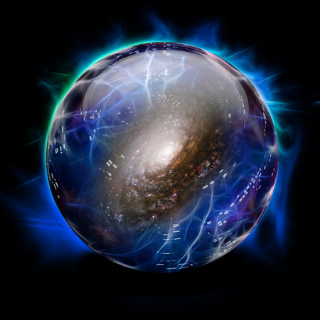 foretell: Crystal Ball Shows Galaxy