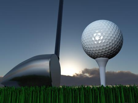 golf course: Sunset or Sunrise Golf