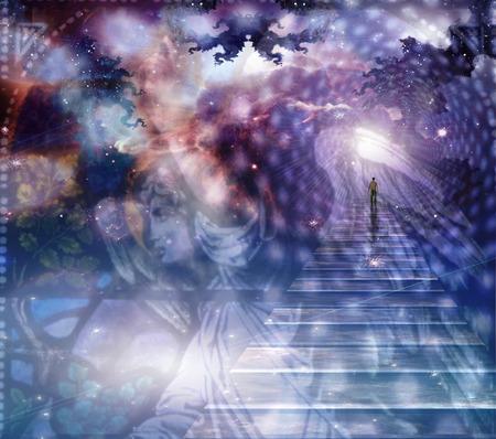 cielo: Ángel y composición heaveanly