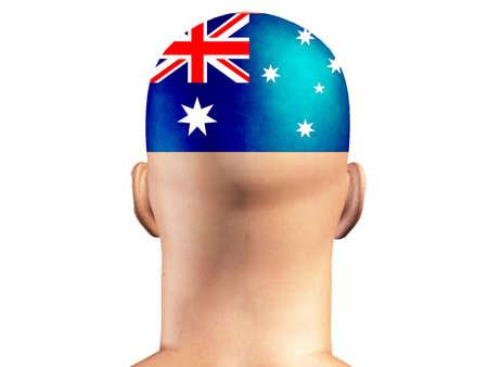 aussie: Aussie man Stock Photo