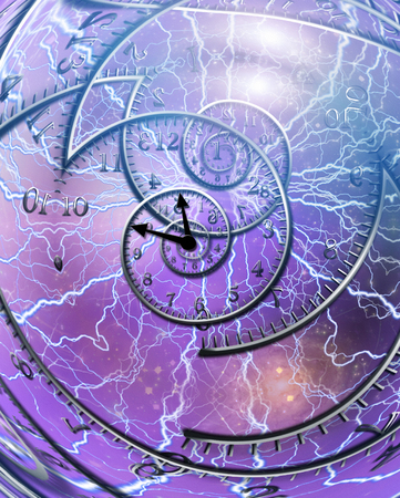hallucination: Weaving time spirals through energetic space