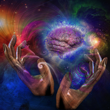 galactic: Galactic Mind Stock Photo