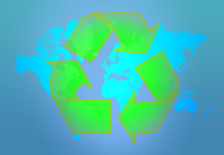 mundo contaminado: la tierra recicla