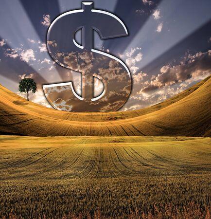 signo pesos: Concepto de riqueza Foto de archivo