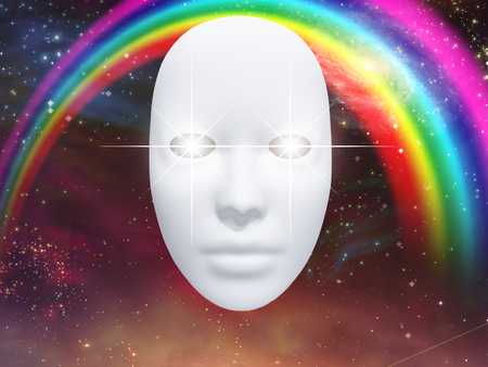 canvass: Whiteface mask and an astronomical elements
