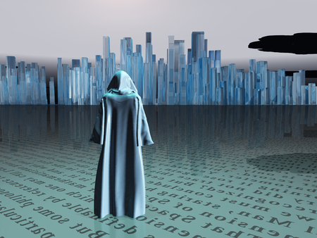 barren: Traveler before the great city
