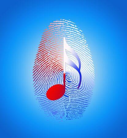 theft proof: USA Music Fingerprint
