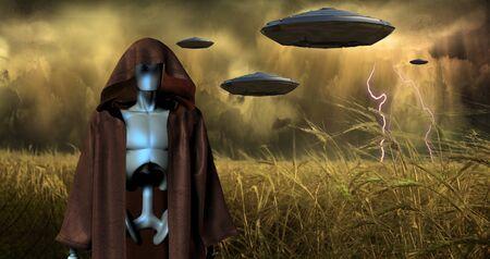 an invasion: Alien Invasion