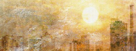pictorial art: Impression City Sun