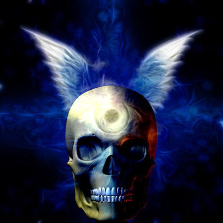 foretell: Winged Skull with Eye