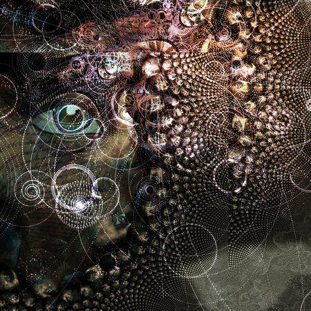 Samenvatting met oog- en deeltjespaden