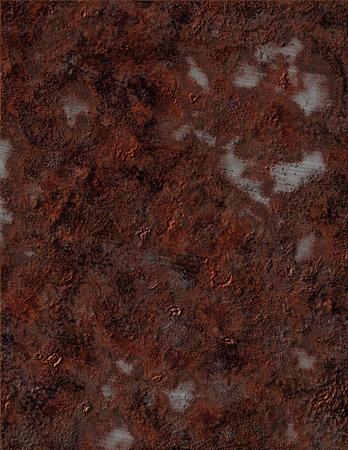 pitting: Rusty Metal Stock Photo