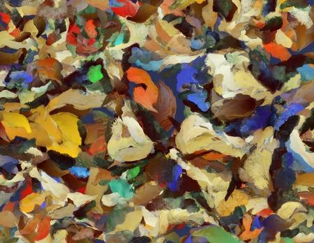 pintura abstracta: Colorida pintura abstracta Foto de archivo