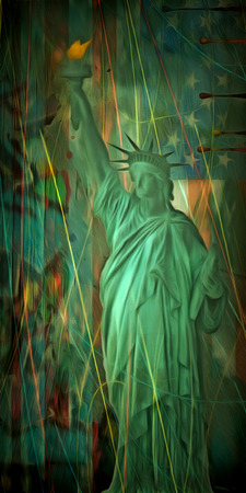 american history: Statue of Liberty America Stock Photo