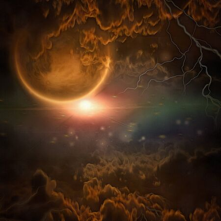 astral: Exo-Solar Planet Painting