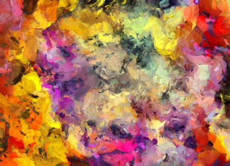 canvas art: Colorful Abstract Painting
