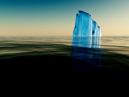 Iceberg 版權商用圖片 - 55115143