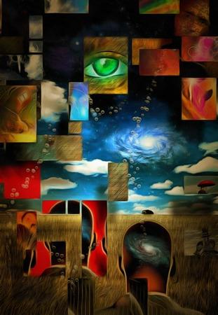 mente humana: composición en capas de la mente humana