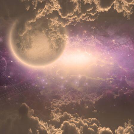 astral: Deep space scene Stock Photo