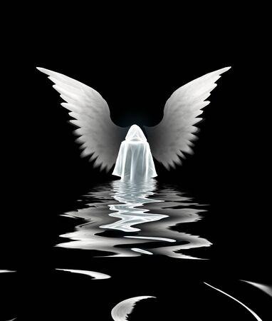 mirrored: Submerged Angel