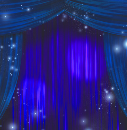 theatrics: Theater Curtains abstract background
