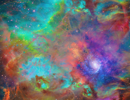 galactic: Galactic Space abstract background