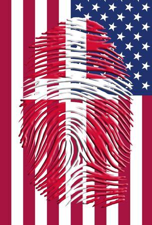 identidad cultural: Dinamarca EE.UU. Identidad