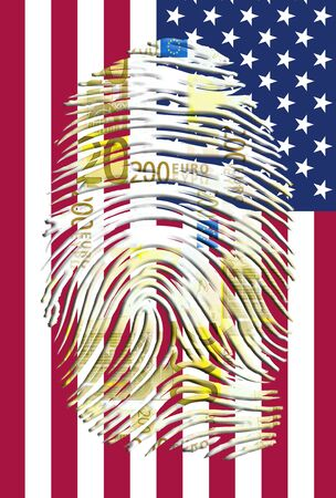 Euro Fingerprint and American Banner