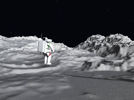astronautics: Lunar Astronaut