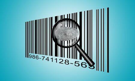 forensics: Finger Print Barcode