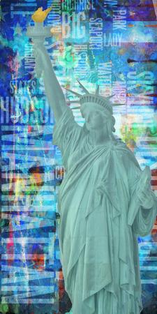 アメリカ ニューヨークの自由の女神像