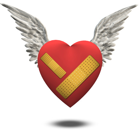 mended: Wounded heart free to fly