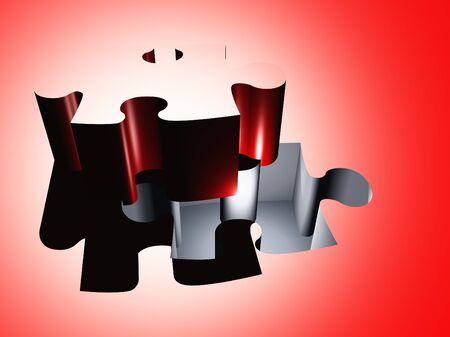 piece: Puzzle piece composition