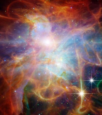 astral: Galactic Space Elements of this image furnished Stock Photo